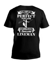 Have A Freaking Awesome Lineman V-Neck T-Shirt thumbnail