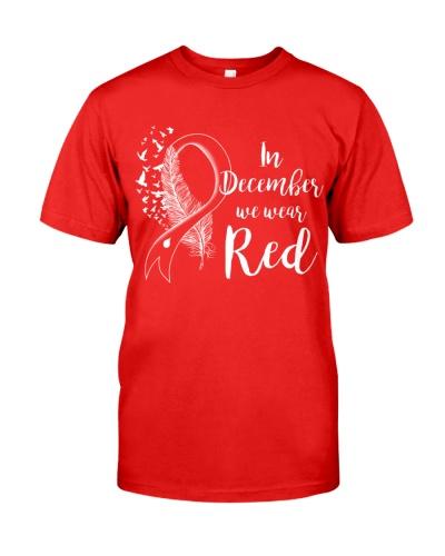In December We Wear Red Teacher