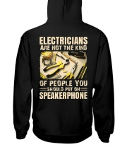 Electricians are not the kind of people you should Hooded Sweatshirt thumbnail