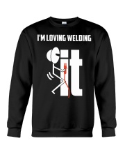 I'm Loving Welding It Crewneck Sweatshirt thumbnail