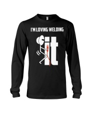 I'm Loving Welding It Long Sleeve Tee thumbnail