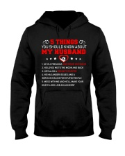 5 thing You Should Know About My Husband Roofer Hooded Sweatshirt thumbnail