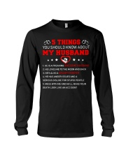 5 thing You Should Know About My Husband Roofer Long Sleeve Tee thumbnail