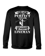 Freaking Awesome Lineman Crewneck Sweatshirt thumbnail
