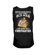 Move Over Boys Let This Old Man Firefighter Unisex Tank thumbnail