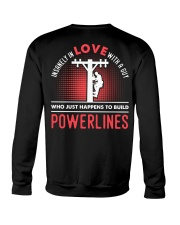INSANELY IN LOVE WITH A GUY WHO JUST HAPPENS Crewneck Sweatshirt thumbnail