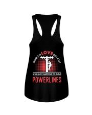 INSANELY IN LOVE WITH A GUY WHO JUST HAPPENS Ladies Flowy Tank thumbnail