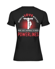 INSANELY IN LOVE WITH A GUY WHO JUST HAPPENS Premium Fit Ladies Tee thumbnail