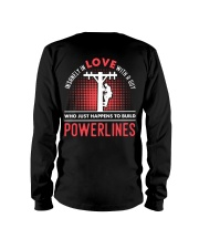 INSANELY IN LOVE WITH A GUY WHO JUST HAPPENS Long Sleeve Tee thumbnail