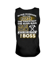 In Our Marriage He's The Roofer Unisex Tank thumbnail