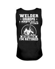 Welder Grandpa I Don't Want To Have To You Can't Unisex Tank thumbnail