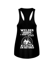 Welder Grandpa I Don't Want To Have To You Can't Ladies Flowy Tank thumbnail