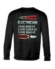 Electrician Wire 1 2 3 Crewneck Sweatshirt thumbnail