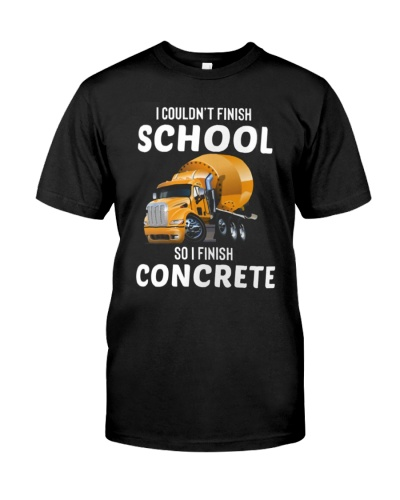 Concrete Finisher Couldn't Finish School