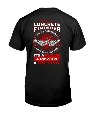 Concrete Finisher Feeling Passion Life Style