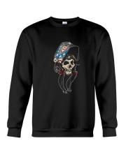 Welder Woman Skull Crewneck Sweatshirt thumbnail