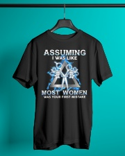 Assuming I Was Like Most Women Hair Stylist Classic T-Shirt lifestyle-mens-crewneck-front-3