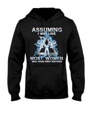 Assuming I Was Like Most Women Hair Stylist Hooded Sweatshirt thumbnail