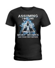 Assuming I Was Like Most Women Hair Stylist Ladies T-Shirt thumbnail