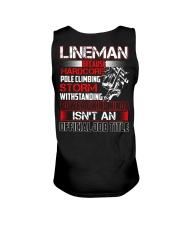 Lineman Ninja Official Job Shirt Unisex Tank thumbnail