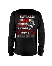 Lineman Ninja Official Job Shirt Long Sleeve Tee thumbnail
