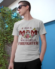 Just A Mom Who Raised A Firefighter Classic T-Shirt apparel-classic-tshirt-lifestyle-17