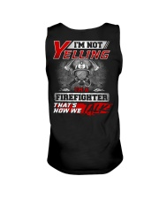 Yelling I'm A Firefighter That's How We Talk Unisex Tank thumbnail