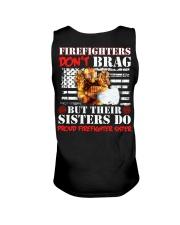 Proud Firefighter Sister Firefighter Don't Brag Unisex Tank thumbnail