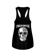 Firefighter Because I'm Far Too Sexy To Wear Ladies Flowy Tank thumbnail