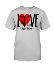 My Lineman Tee Classic T-Shirt front