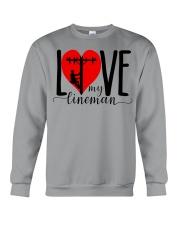 My Lineman Tee Crewneck Sweatshirt thumbnail
