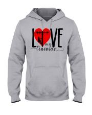 My Lineman Tee Hooded Sweatshirt thumbnail