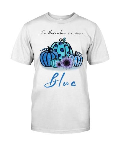 In November We Wear Blue Teacher