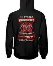 Behing Every Strong Firefighter Hooded Sweatshirt thumbnail