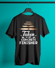 Taken By My Concrete Finisher Classic T-Shirt lifestyle-mens-crewneck-front-3