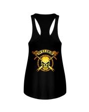 Welder Skull Tee Ladies Flowy Tank thumbnail