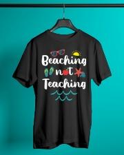 Beaching Not Teaching Classic T-Shirt lifestyle-mens-crewneck-front-3