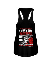 Firefighter Every Life Matters Ladies Flowy Tank thumbnail