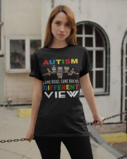 Autism Different View Classic T-Shirt apparel-classic-tshirt-lifestyle-19