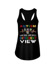 Autism Different View Ladies Flowy Tank thumbnail