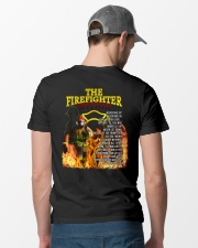 The Firefighter Within Classic T-Shirt lifestyle-mens-crewneck-back-6