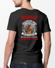Firefighter's Life Classic T-Shirt lifestyle-mens-crewneck-back-5