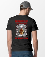 Firefighter's Life Classic T-Shirt lifestyle-mens-crewneck-back-6