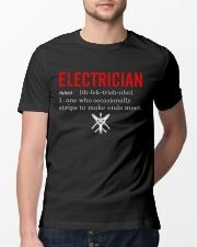 Electrician Strip Classic T-Shirt lifestyle-mens-crewneck-front-13