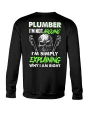 Plumber I'm Not Arguing Simply Explaining Crewneck Sweatshirt thumbnail
