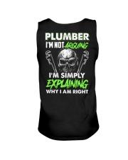 Plumber I'm Not Arguing Simply Explaining Unisex Tank thumbnail