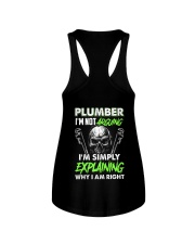 Plumber I'm Not Arguing Simply Explaining Ladies Flowy Tank thumbnail