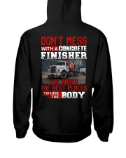 Don't Mess With A Concrete Finisher We know Hooded Sweatshirt thumbnail
