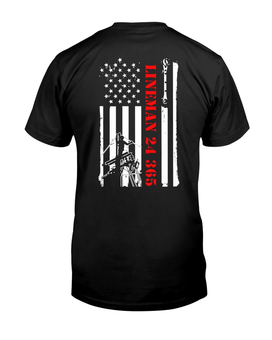 Lineman 24 365 Shirt Classic T-Shirt