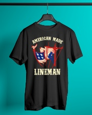 American Made Lineman Classic T-Shirt lifestyle-mens-crewneck-front-3